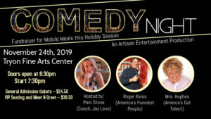 Copy of Comedy Night Show Event Comedian Stand up Ad - Made with PosterMyWall